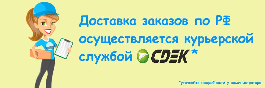 Доставка по России - СДЭК