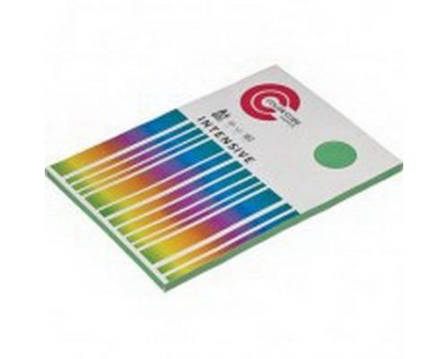 Бумага офисная А4 100 листов COLOR CODE INTENSIVE, п листов 80г/м2, зеленая БЕЗ СКИДКИ