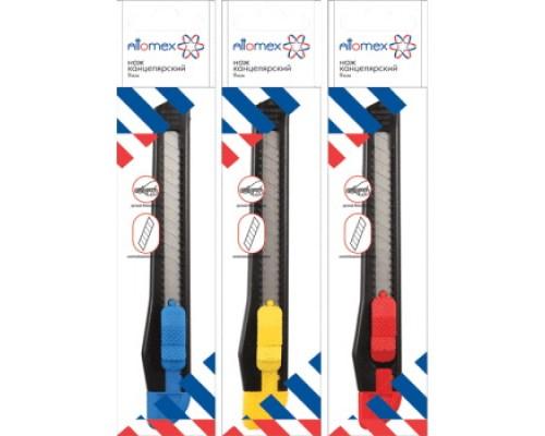 Нож канцелярский 9мм. Attomex