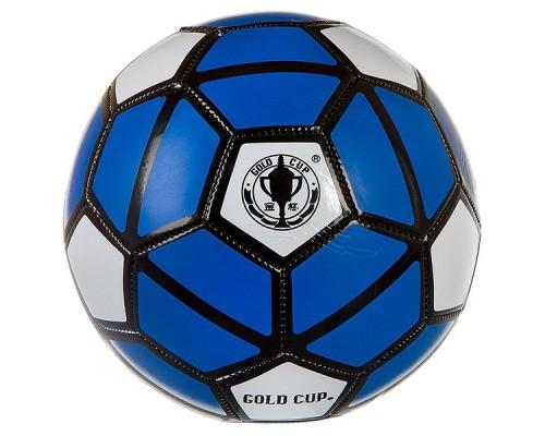 Мяч футбольный 280г-300г, №5, PVC глянцевый