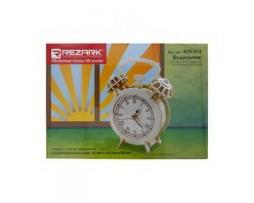 ПАЗЛЫ 3D ROT-014 15 x 6.8 x 20 см будильник фанера