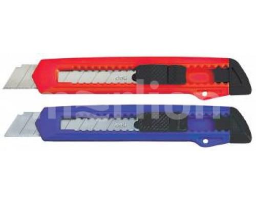 Нож канцелярский 18мм. Deli E2001