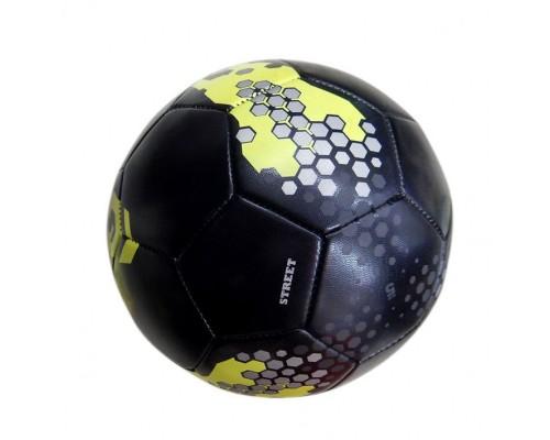 """Мяч футбольный """"Чемпион"""", D-22см, 32 панели, 4 подслоя, чёрный, пу 9555"""