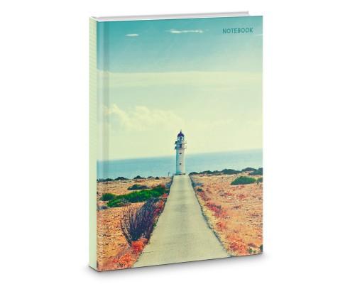 Книга для записей А4 100 листов Дорога к маяку