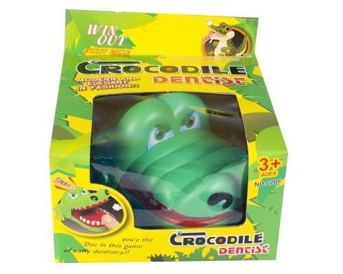 Игра настольная Крокодил-дантист 2205