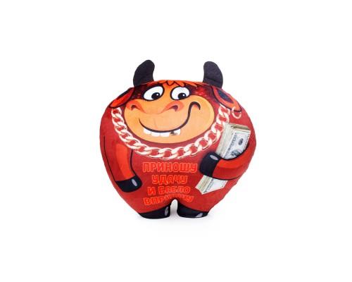 Мягкая игрушка Бычок-антистресс В30 6626/КЧ/30